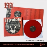 MENTOR Cults, Crypts and Corpses (RED) LP