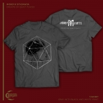 MORD'A'STIGMATA Dreams of Quiet Places T-SHIRT (GRAY)