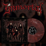 IMMORTAL Damned in Black LP