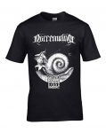 NARRENWIND Psalm CXX.5. T-SHIRT (BLACK)