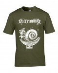 NARRENWIND Psalm CXX.5. T-SHIRT (GREEN)