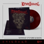 EMBRIONAL Evil Dead LP (RED & BLACK)