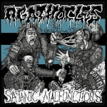 AGATHOCLES / SATANIC MALFUNCTIONS Split CD