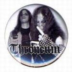 THRONEUM Band - button badge