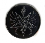 SATHANAS Sigil - button badge