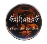 SATHANAS Logo - button badge