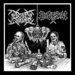 BONE GNAWER / BONESAW Split LP