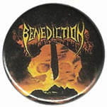 BENEDICTION Subconscious Terror - button badge