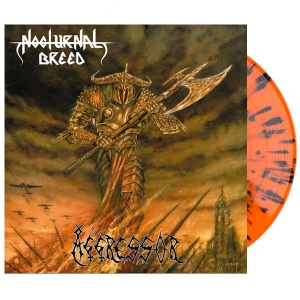 NOCTURNAL BREED Aggressor LP (SPLATTER)
