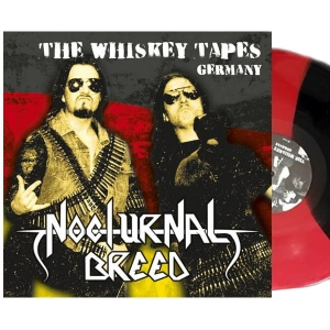 NOCTURNAL BREED The Whiskey Tapes Germany LP (3 COLOR STRIPPED)