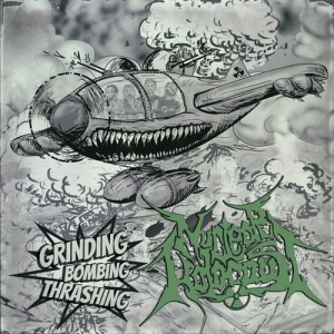 NUCLEAR HOLOCAUST Grinding Bombing Thrashing CD