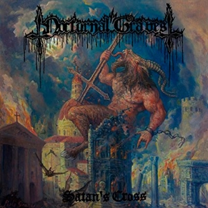 NOCTURNAL GRAVES Satans Cross CD-digipack