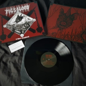 PIG'S BLOOD A Flock Slaughtered LP