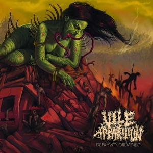 VILE APPARITION Depravity Ordained CD
