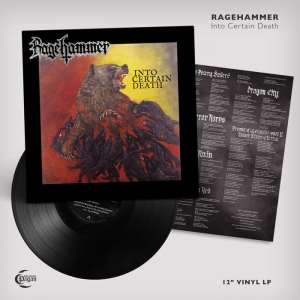 RAGEHAMMER Into Certain Death LP