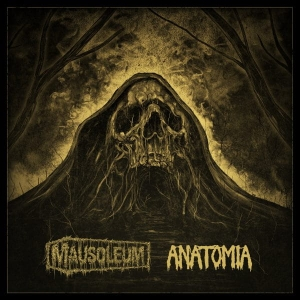 ANATOMIA / MAUSOLEUM Split LP