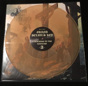 GRAND BELIAL'S KEY A Witness To The Regicide LP