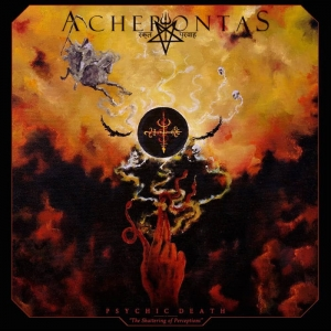 ACHERONTAS Psychic Death-The Shattering of Perceptions CD-digipack