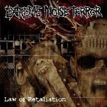 EXTREME NOISE TERROR The Law of Retaliation CD