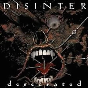 DISINTER Desecrated CD