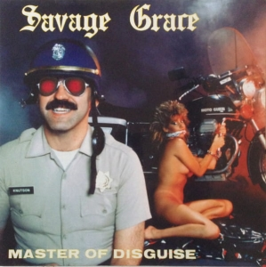 SAVAGE GRACE Master of Disguise CD
