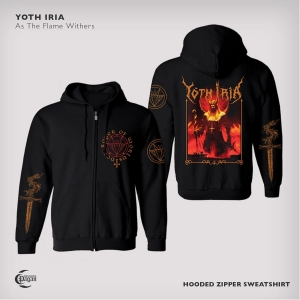YOTH IRIA As The Flame Withers HOODED SWEATSHIRT