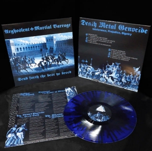 ARGHOSLENT / MARTIAL BARRAGE Send Forth The Best Ye Breed LP