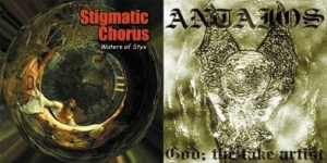 ANTAIOS / STIGMATIC CHORUS Split CD