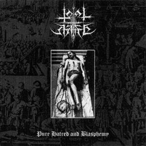TOTAL HATE Pure Hatred and Blasphemy CD