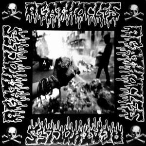 AGATHOCLES / PAUCITIES Split LP