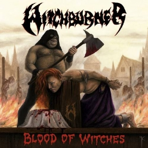WITCHBURNER Blood of Witches CD
