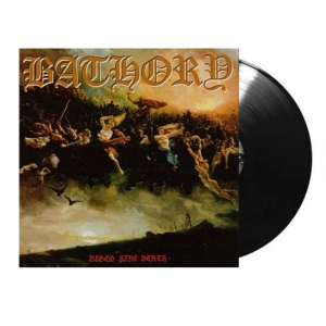 BATHORY Blood Fire Death LP