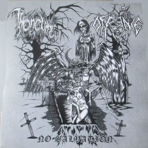 THRONEUM / OFFENCE No Salvation EP