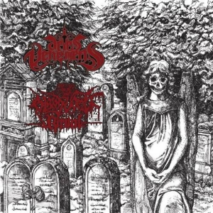 "ARIES VEHEMENS / BLOOD VOMIT RITUAL Split 7""EP"