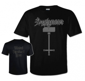 RAGEHAMMER Metal Against You T-SHIRT