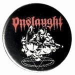 ONSLAUGHT Power From Hell - przypinka