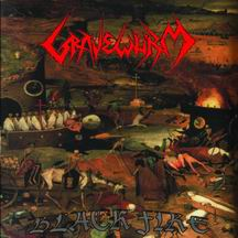 GRAVEWURM Black Fire CD