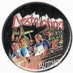 DESTRUCTION Mad Butcher - przypinka - button badge