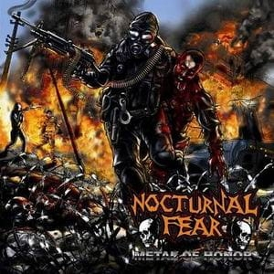 NOCTURNAL FEAR Metal of Honor CD
