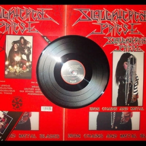 SLAUGHTERED PRIEST Iron Chains and Metal Blades LP