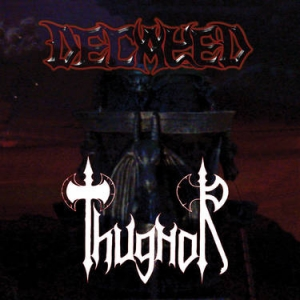DECAYED / THUGNOR Split CD