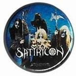 SATYRICON Band - przypinka - button badge