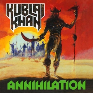 KUBLAI KHAN Annihilation CD-digibook