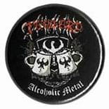 TANKARD Alcoholic Metal - przypinka - button badge