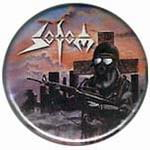 SODOM Persecution Mania - button badge