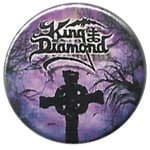 KING DIAMOND The Graveyard - przypinka - button badge