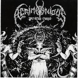 ACRIMONIOUS Perdition Gospel CD
