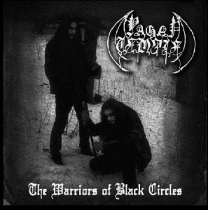 PAGAN TEMPLE The Warriors of Black Circles CD