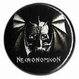 NECRONOMICON - przypinka - button badge