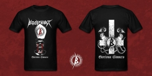 BLOODTHIRST Glorious Sinners T-SHIRT